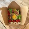 NETZER Box Fitness mit Avocado, Erdbeeren Ei und Reis